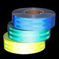 Wholesale cmx50m Reflective Safety Warning Conspicuity Tape Film Sticker For Vehicles Bike Bicycles Cars Motorcycles Ships Fairways Stage