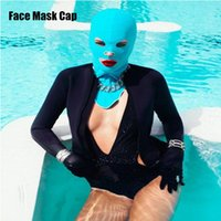 Wholesale 50pcs Face Mask Cap Guard Head Cap Sunblock Protect Uv Some Bug Biting Jellyfish for Head Protect Mask