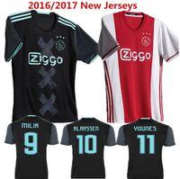 ajax shorts - Benwon Ajax home Soccer Jersey Maillot de foot Klaassen MILIK SCHONE men s thai quality Football Shirts short sleeve sports jerseys
