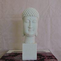 big head statues - Buddha statue Antique modern Chinese statue stone sculpture Creative Crafts Tathagata Buddha Guanyin Buddha Big Buddha head statue