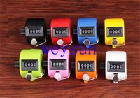 Wholesale Digital Chrome Hand Tally Clicker Counter Digit Number Clicker Golf