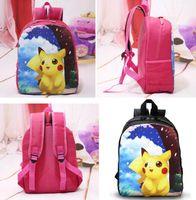 baby bag backpacks - New Poke go Children Backpack Kindergarten Kid School Bag Pikachu Baby Girl Boy Primary School Bag