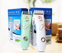 Wholesale Saft and Quiet Baby Hair Clipper Professional Hair Trimmer Hair Eesign Hair Cutting Machine rechargeable electric cutter hair