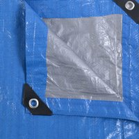Wholesale 20 x Tarp Canopy Reinforced Tarpaulin Heavy Duty w Grommets Blue New