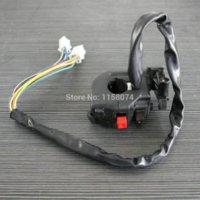 Wholesale Brand new Universal ATV Motorcycle Start Switch Light Turn Signal Switch Start flameout and Headlight Dimmer Plastic