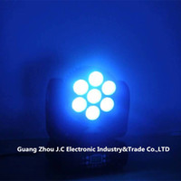 Wholesale 7PCS W RGBW in1 LED Moving Head Beam Light CH for Stage Disco with Ce RoHS