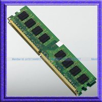 Wholesale 2GB DDR2 PC2 MHZ pin RAM low density DIMM Desktop Memory gb ddr2 NON ECC