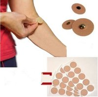 acupuncture patch - 50pcs Magnetotherapy Magnetic Plaster Patch Pain Relief Acupuncture Massage Muscle Relax stickers magnetic stickers Reusable