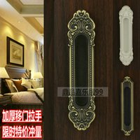 Wholesale Jane type ivory handle door handle door handle door hidden Bronze Kitchen Wooden door handle