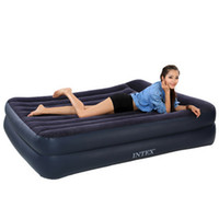 Wholesale INTEX double inflatable pillow built to increase tourism and leisure outdoor tent bed