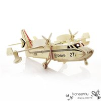 air story - Kids Jigsaws D Wooden Puzzle Military Education DIY Bomber Fighter ModelHome Decoration Air Show Tourist Attractions Hot Sale