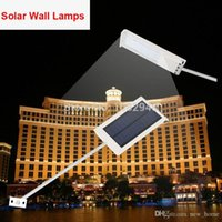 Wholesale Hot Sale New Arrival Solar Power Garden Lamp Waterproof LED Solar Sensor Ultra thin Outdoor Wall Street Light Yard Lamp