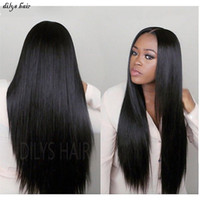 Wholesale Top selling A Brazilian best quality Straight hair g Indian Peruvian Malaysian Hair quot quot Hair Brazilian Human Hair