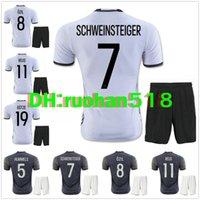 best soccer t shirts - 2016 best Quality soccer jerseys kits European Cup Shirts MEUER REUS SCHWEINSTEIGER OZIL MULLER KROOS GOTEZ T shirt Soccer Wear Tops