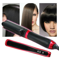 Cheap UA Hair Straightener Best Pink Under $30 Hair Comb Brush