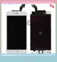 Wholesale Quality AAA No Dead Pixel LCD For Iphone plus touch screen with Touch Digitizer Assembly Black White