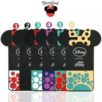 apple minnie - Minnie Mouse iPhone s Silicone Case with Phone Strap MINNIE BOW Back Cover for iphone s plus with OPP BAG