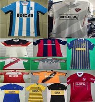 Wholesale DHL shipping thai quality Racing club Independent Boca Juniors River Plate San Lorenzo Rosario Central soccer football jersey
