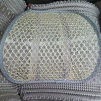 Wholesale Newest Car Seat Chair Massage Back Lumbar Support Mesh Ventilate Cushion Pad Black Mesh Back Lumbar Cushion