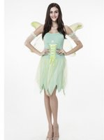 adult elf outfits - 2016 Halloween Costumes Flower Fairy Cosplay Elves Cos Wonderful Fairies Suit Adult Party Spirit Outfit For Woman