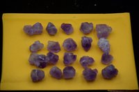 Wholesale Natural amethyst original rock specimens Reiki gift aquarium decorations