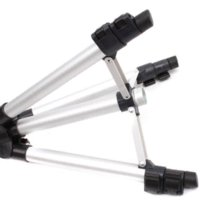 Wholesale 1pc inch Flexible Sections Camera Camcorder Tripod Stand Compact Universal Metal Professional Tripod MU672205