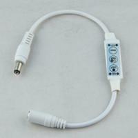 Wholesale mini controller dimmer for LED strip single color light lamp key DC12V V keys multi function