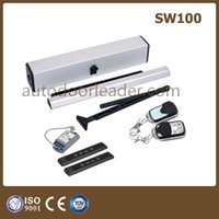automatic hinges - Automatic hinge door electric swing door opener operator unit including one set of wireless touch switch