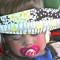 Wholesale Infant Nap Sleep Safety Belt Children Adjustable Head Holder Belt Car Seat Fixing Band Strap Kids Baby Carriage Protective Belt