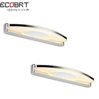 bathroom lights over mirror - 8W led wall sconces lights SMD2835 in the bathroom Modern Style Bathroom Over Mirror wall lights lamps cm long V V AC