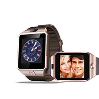 Wholesale 2016 Fashion Original Smart Watch DZ09 Sim Watch Smartwatch Support TF Card Bluetooth Smart Clock GSM Call Standard Bluetooth