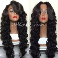 Wholesale Glueless Lace Front Wigs Brazilian Deep Body Wave Full Lace Human Hair Wigs For Black Women Best Lace Front Wig With Baby Hair