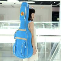 Wholesale 600D Water resistant Oxford Cloth Guitar Bag Backpack Adjustable Shoulder Straps Gig Bag Case for quot Acoustic Folk Guitar