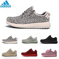 Cheap Adidas Original Kanye West Yeezy Boost 350 2016 Moonrock Kanye Shoes Pirate Black Yeezy 350 Boost Turtle Dove Grey Yeezy With Box