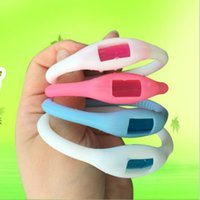Wholesale Korea Humming circle Child Adult mosquito repellent bracelet citronella mosquito luminous child baby silicone ring breacelet