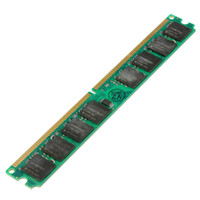 Wholesale 1pcs GB DDR2 RAM PC2 MHZ Non ECC Pins Laptop DIMM Memory SDRAM For Multiple System AMD And Intel Desktop PC