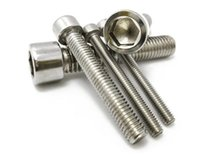 Wholesale 202 stainless steel GB70 DIN912 bolt cylinder six angle screw cup head screw M6
