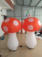 beautiful stables - 2m H Beautiful Inflatable Mushroom For Decoration With Stable Base