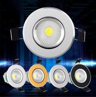 alloy spot lights - Dimmable W W W led Ceiling light COB Epistar LED ceiling lamp Recessed Spot light V V for home illumination