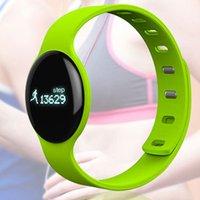 Montre de fitness de santé à puce Prix-Santé Bluetooth 4.0 H8 Smart Bracelet Fitness Sport Testeur Montres Pulsera Actividad Pour téléphone Sleep Tracker Wristband rappels d'appels téléphoniques