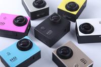 al por mayor cámaras al aire libre baratas-barato Deportes cámara A9 cámara de vídeo de acción impermeable al aire libre 2.0inch LCD DV deporte de HD1080P 30m 90 grados