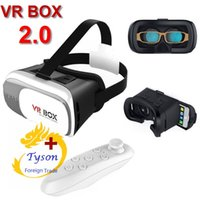 Wholesale Freeship VR BOX D Glasses VR Virtual Reality Smart Bluetooth Wireless Mouse Remote Control Gamepad