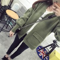Wholesale Knit cardigan sweater jacket new women s spring spring preppy clothes student influx of money in early spring