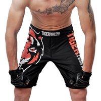Wholesale HOT sale brand MMA muay Thai Boxing shorts Sweat quick dry fight training shorts Trunks Size M L XL XXL XXXL