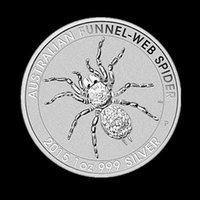 australia spiders - 2015 new ounce silver in Australia A dollar COINS Australian spiders COINS lou copy