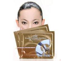 Wholesale 500 pairs Anti Wrinkle Gel Collagen Under Eye Patches Pad Mask Bag Dark Circle Eye Mats Eye Masks