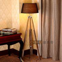 Wholesale Scandinavia style wooden floor lamp boat floor lamp