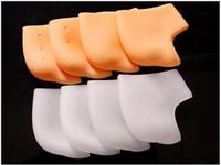 Wholesale Silicone Heel Socks Foot Skin Care Protector Moisturizing Gel