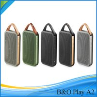 bang and olufsen speakers - B O PLAY by Bang And Olufsen A2 Bluetooth Speakers Mini Speaker High Performance Fashion Wallet Style Stereo surround Outdoor Speaker DHL