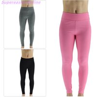 Wholesale Female Pants Exercise Training Athletic Tights Ankle length Bodybuilding Sexy Skinny Pencil Pants Homedress Cozy High Elastic Trousers